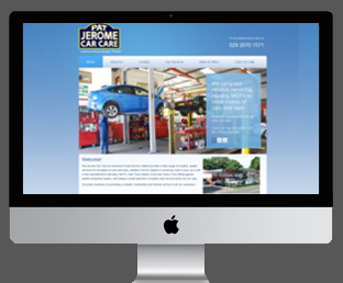 Motor garage website